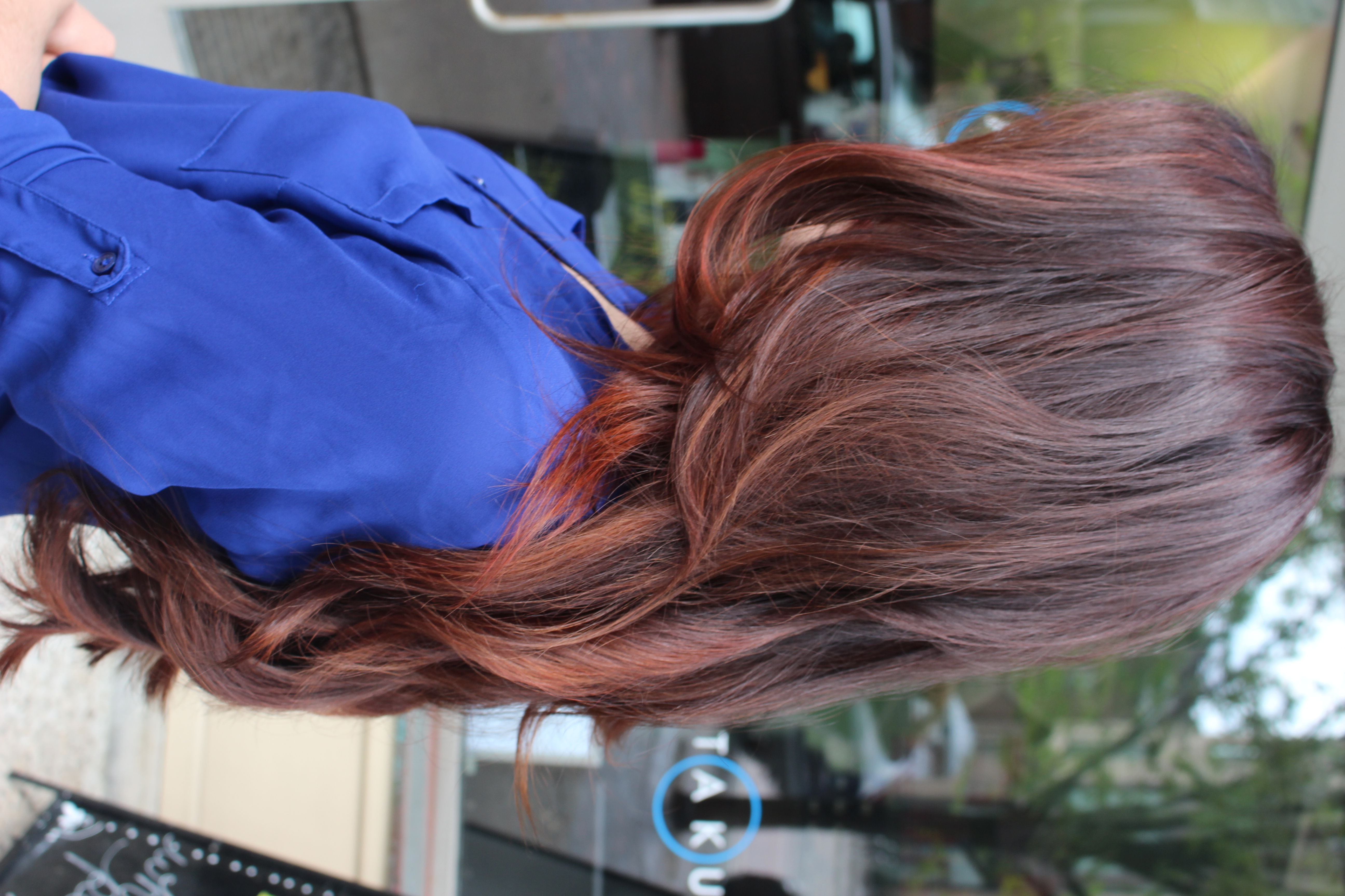 The gallery for --> Auburn Brown Ombre Hair