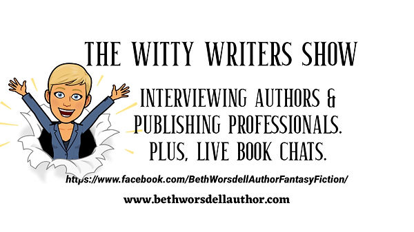 The Witty Writers Show with author, Beth Worsdell..JPG
