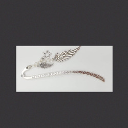 Angel wing bookmark