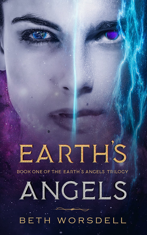YA version Earth's Angels by Bethworsdel
