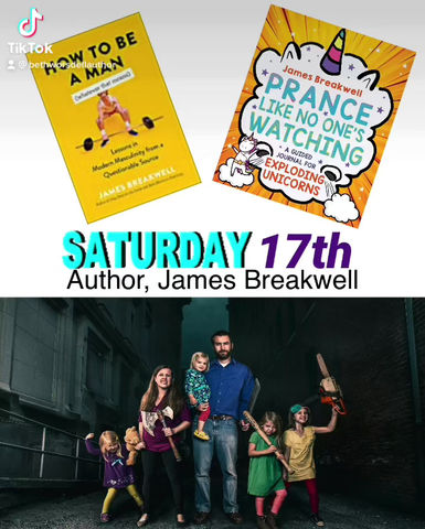 Exploding Unicorns and more Saturday 17th on The Witty Writers Show, live!