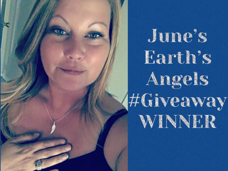 The #winner for June's Earth's Angels #Giveaway is (Drum Roll) Elizabeth Miller  Congratulations!