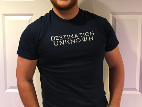 Don't miss out! You could win a free DESTINATION UNKNOWN T-shirt. Share with your friends!  😆