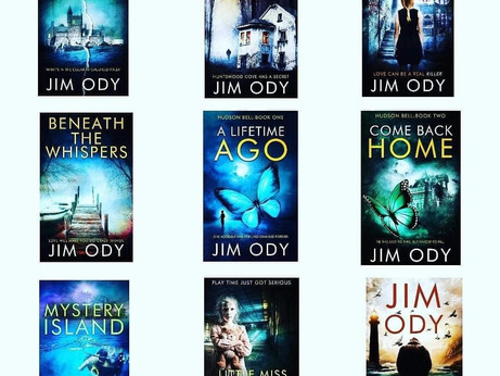 Horror and psychological thriller author Jim Ody live on The Witty Writers Show tomorrow.
