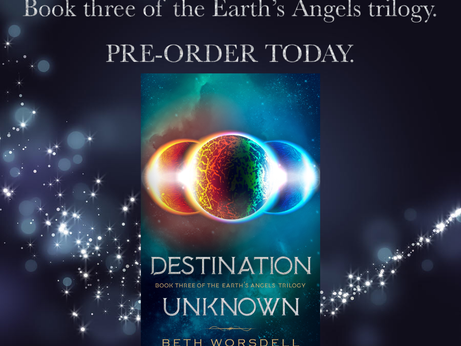 Signed Destination Unknown paperback Giveaway!
