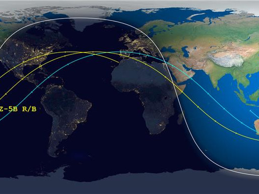 UPDATE: Latest Re-entry Predictions For Chinese Out-Of-Control Rocket
