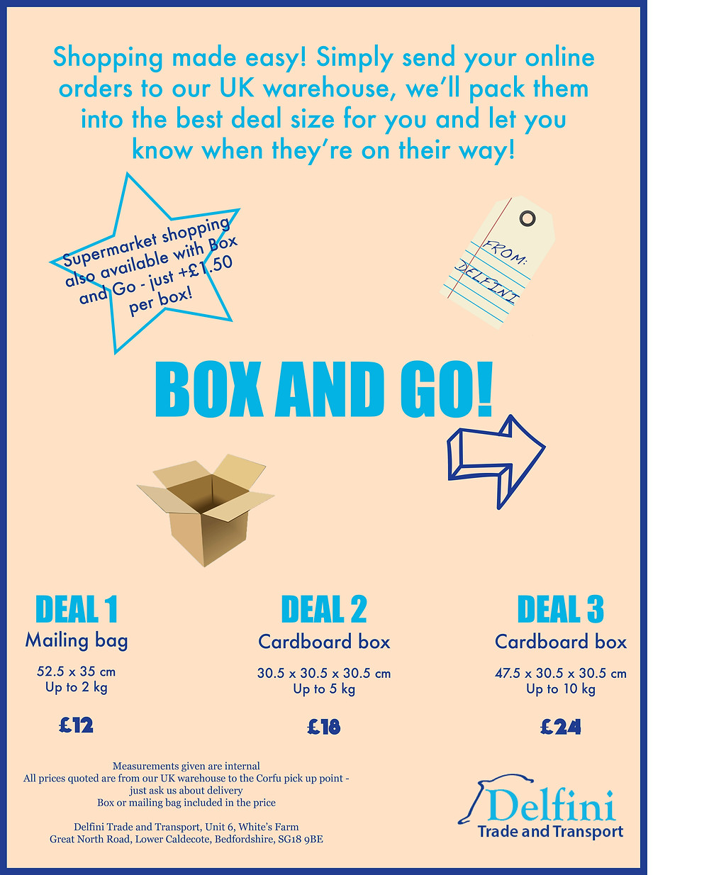 Box and Go service