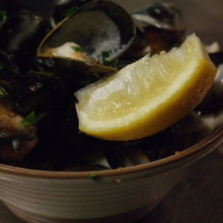 Fresh Mussels in Sherry