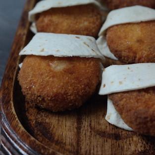 Mini trout cakes