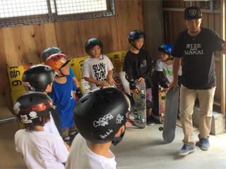 スケートボード強化合宿