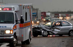 Personal Injury Car and 18 Wheeler
