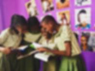 Students of Gem Star School enjoying the