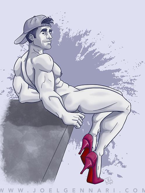 Hunks In Heels #7