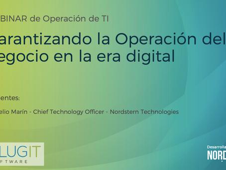 [Video] Webinar Garantizando la Operación del negocio en la era digital