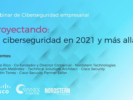 [Video] Webinar Proyectando: La ciberseguridad en 2021 y más allá