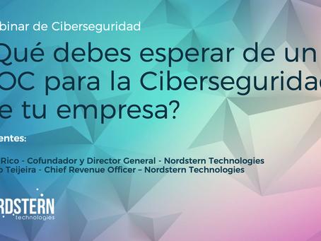 [Video] Webinar ¿Qué debes esperar de un SOC para la Ciberseguridad de tu empresa?
