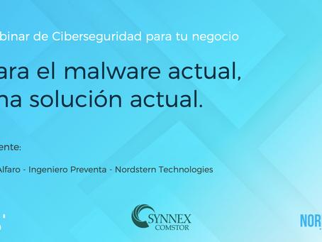 [Video] Webinar Para el malware actual, una solución actual