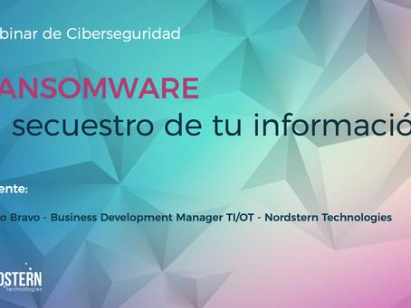[Video] Webinar Ransomware, el secuestro de tu información