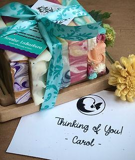 gift sets handcrafted artisan soap lush custom