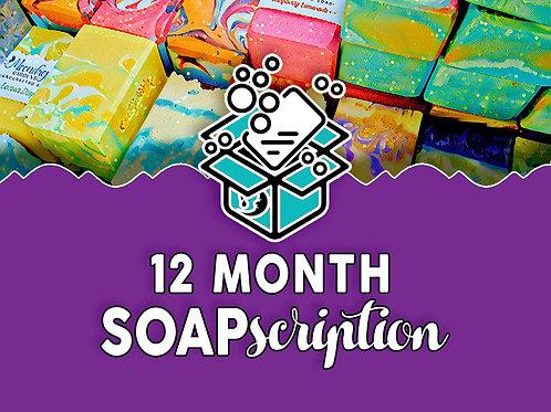 12 MONTH SOAPscription