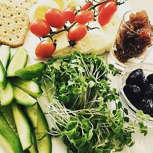 microgreens as a condiment