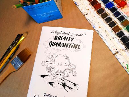 Dreamy Quarantine, livret de coloriages dispo à la vente.