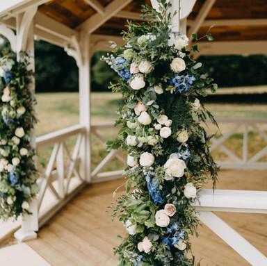 Pavilion flowers