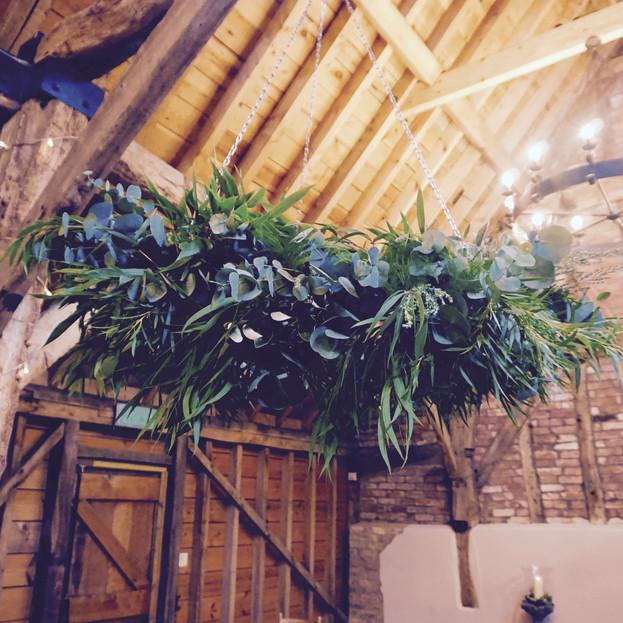 Large foliage hoop
