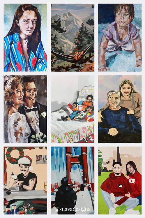 Custom Order Paintings