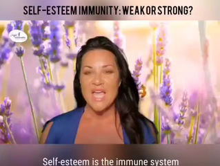 """Self-esteem is the immune system of the consciousness.""- Nathaniel Branden"