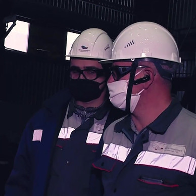 Экзоскелет ExoHeaver на Лебединском ГОКе