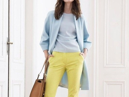 Este verano animate al pantalón amarillo