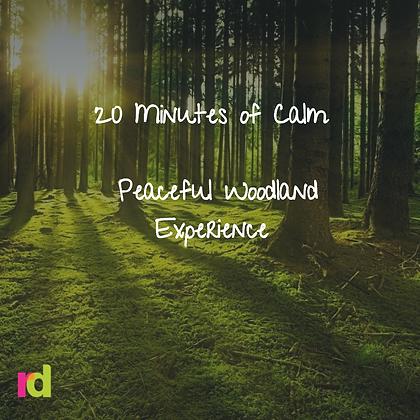 20 Minute Relaxation with Peaceful Woodland Experience