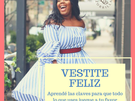 "Taller ""Vestite feliz"" - Marzo 2019"