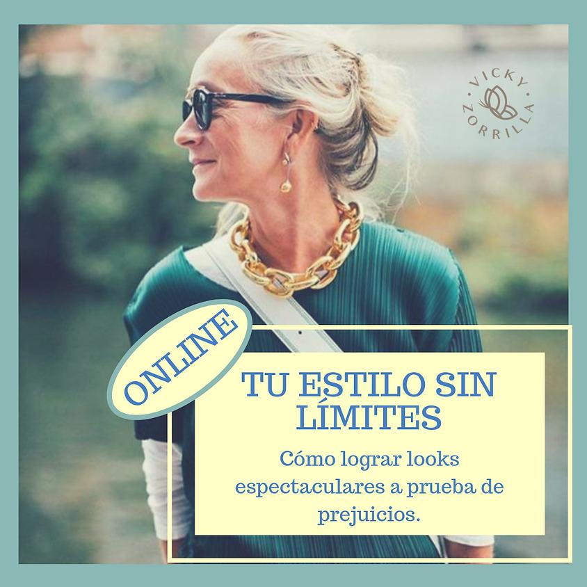 "Taller ""Tu estilo sin límites"" - ONLINE SÁBADO 31/8"
