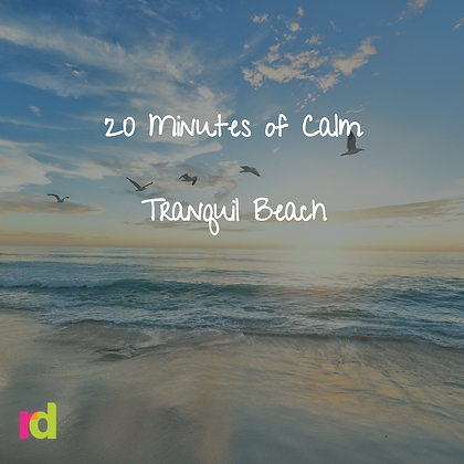 20 Minute Relaxation with Tranquil Beach Experience