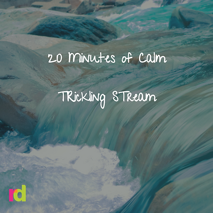20 Minute Relaxation with Trickling Stream Experience