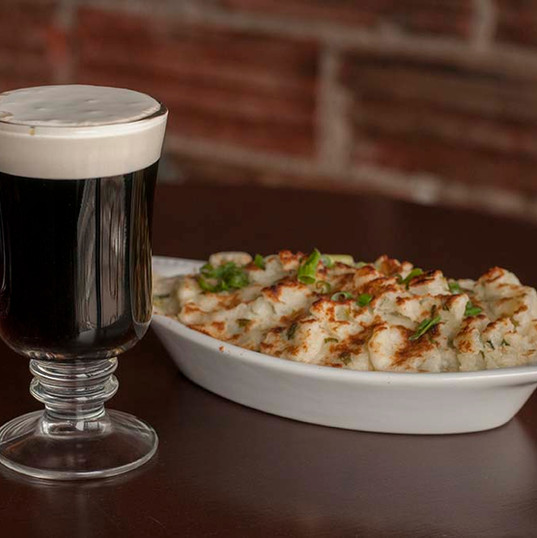Shepherd's Pie with a proper Irish coffee