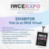 EXHIBITOR - Visit Us at IWCE Virtual edi
