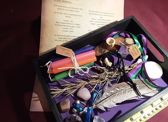 Small or starter alter kits working with elements🕯 please click image for more