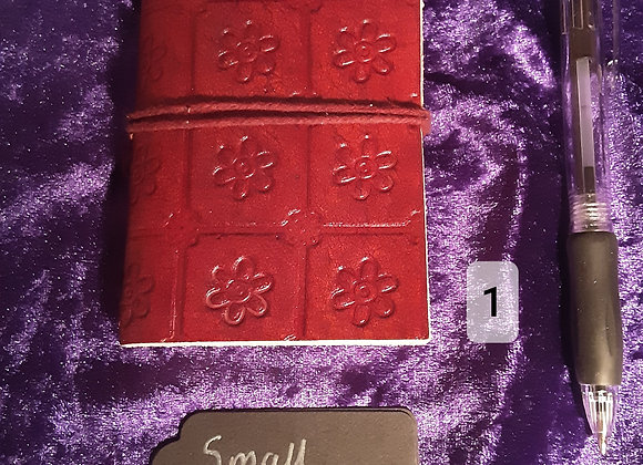 Small leather bound pocket journal please click image for more designs