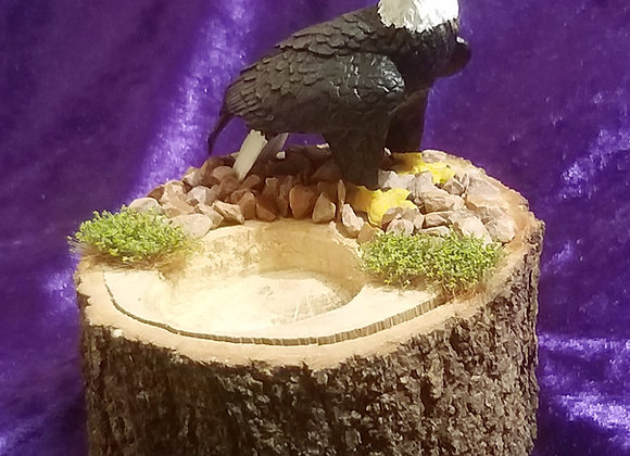 Bald eagle cone burner