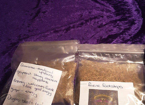 Loose incense crafted by me please click on image for more blends