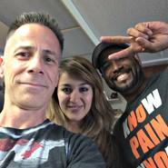Michael Robert Lawrence Gym Selfie 3