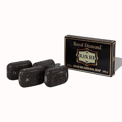 Royal Diamond Black Mud Soap Gift Pack