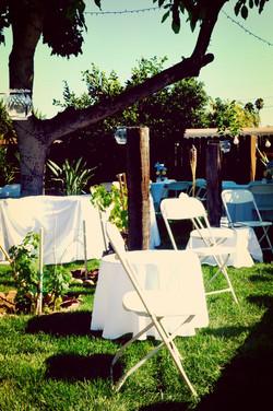 Backyard Pool Reception
