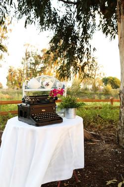 Typing in the Garden