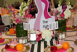 Breast Cancer Awarness Event TableScape 1