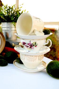 Tea Cup Tower