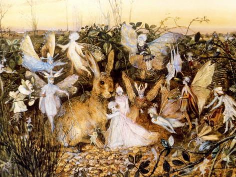 Nature spirits (elementals): fairies, elves, gnomes, unicorns...